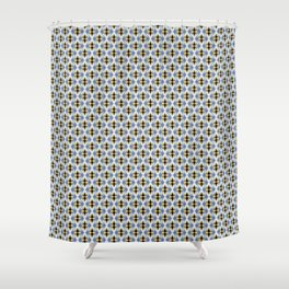 Building Caleidoscope Shower Curtain
