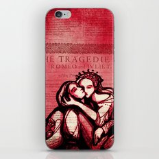 Romeo & Juliet - Shakespeare Folio Illustration Art iPhone & iPod Skin