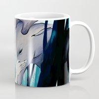 thranduil Mugs featuring Thranduil by quelm