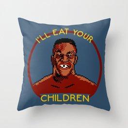 I'll Eat Your Children Throw Pillow