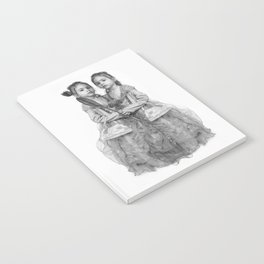 Sisters Twins Notebook