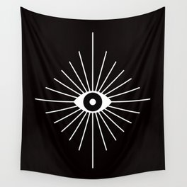 ELECTRIC EYES Wall Tapestry