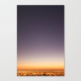 dusk colors Canvas Print