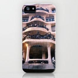 Casa Milá - La Pedrera BCN iPhone Case