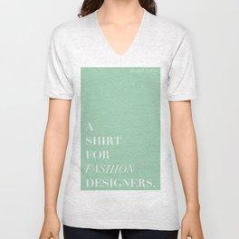 BDFD - Fashion designer Unisex V-Neck