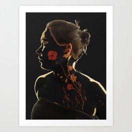 Essence of Poppy Power! Art Print