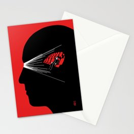 One Man Movie Theatre Stationery Cards