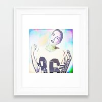 indiana Framed Art Prints featuring Indiana by Enna