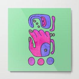 Art pop glypho Metal Print