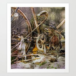 flotsam Art Print