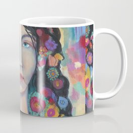 Flowers in Her Hair Coffee Mug