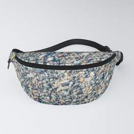 Beach stones surface Fanny Pack