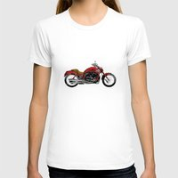 motorcycle T-shirts featuring Motorcycle by magnez2