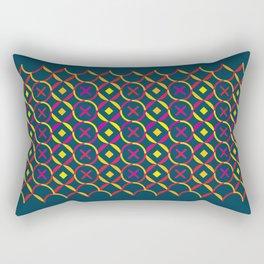 X and O Rectangular Pillow