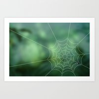 Web of Lies Art Print