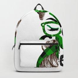 Lucky Cna St Patricks Day Irish Shamrock Nurse Backpack