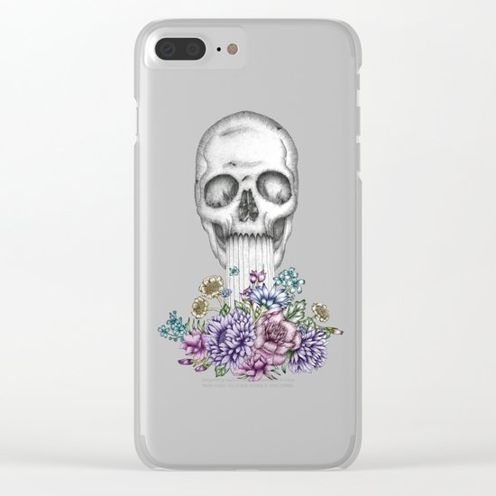 The Birth of Death II Clear iPhone Case