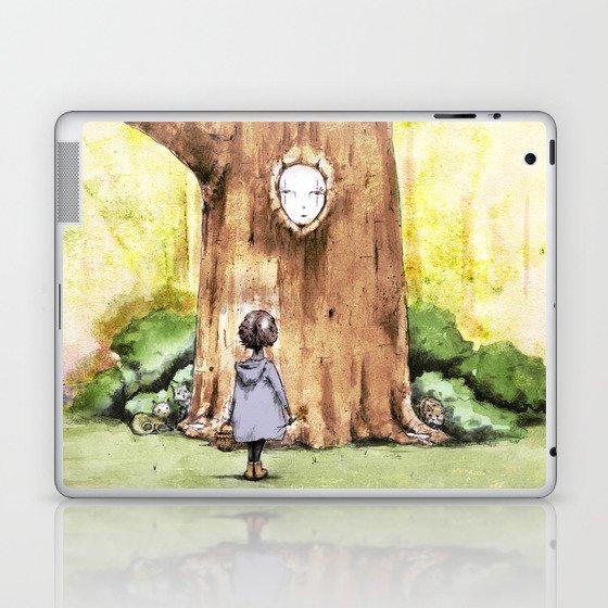 A Curious Quercus Laptop & iPad Skin by barryquinn