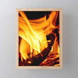Willing to Burn Framed Mini Art Print