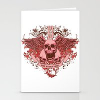 friday Stationery Cards featuring Friday by Tshirt-Factory