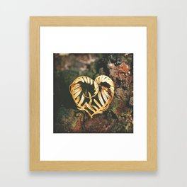 Heart of the Forest Framed Art Print