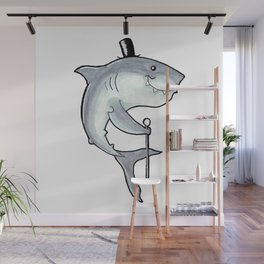 PSC Great White Shark Wall Mural