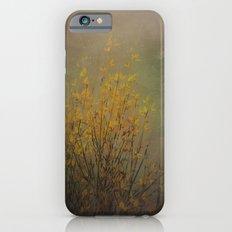 Vintage flowering bloom iPhone 6s Slim Case