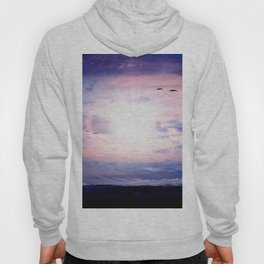 The sun, clouds, wind, panorama and structures. Hoody