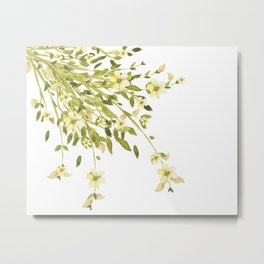 Yellow flower bunch Metal Print