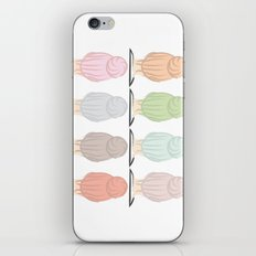 Top Knots iPhone & iPod Skin