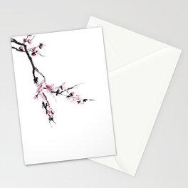 Sakura flower Stationery Cards