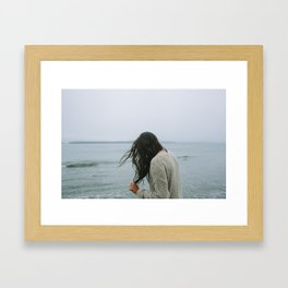 Salted Tofino Framed Art Print