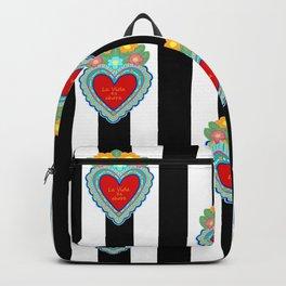 LA VIDA ES AHORA Backpack