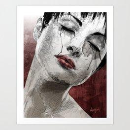 Venom and Tears Art Print