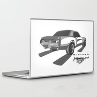 mustang Laptop & iPad Skins featuring Mustang by Mister Abigail