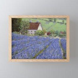 Lavender Hill — North Carolina Framed Mini Art Print