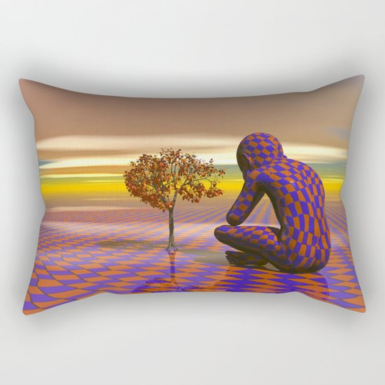 A day in the park Rectangular Pillow