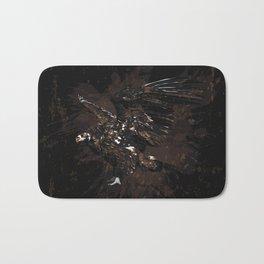 Cinereous vulture Bath Mat