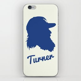 Justin Turner iPhone Skin