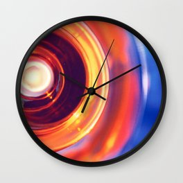 GOLDEN COOKIE LID Wall Clock