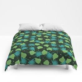 green pop Comforters