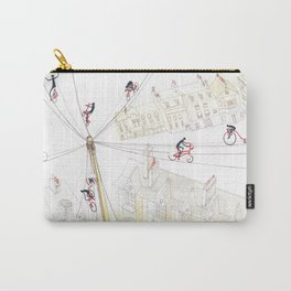 Cycling in London Carry-All Pouch
