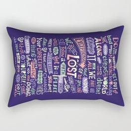 Real World Rectangular Pillow