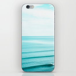 Minimal Beach iPhone Skin