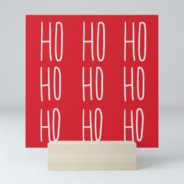 Ho Ho Ho Mini Art Print