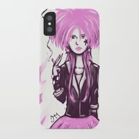lana iPhone & iPod Cases featuring Lana by Godless Machine
