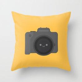 Cute Kawaii Camera Throw Pillow