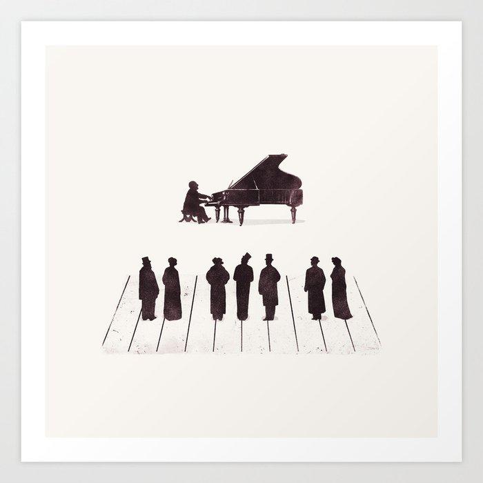 A Great Composition Art Print