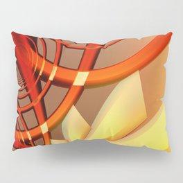 Circling 2 Abstract Fractal Art Pillow Sham