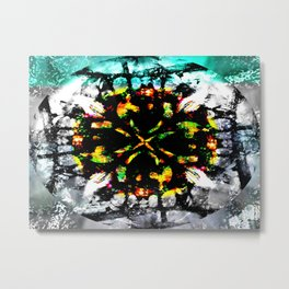 Diffraction Metal Print